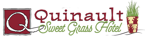 Quinault Sweet Grass Hotel logo